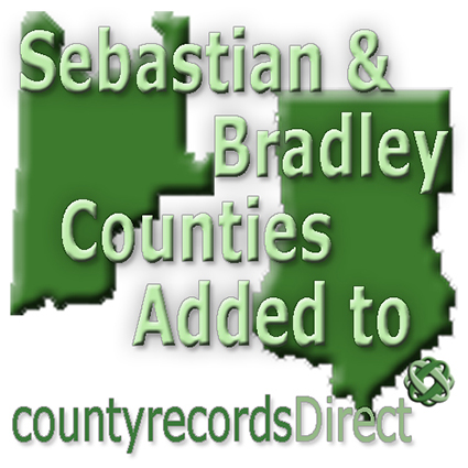 Sebastian and Bradley Counties added to County Records Direct
